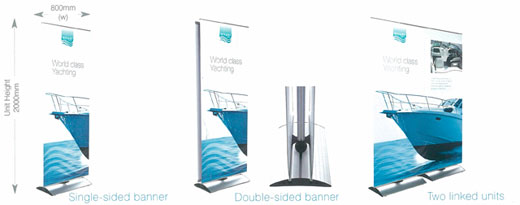 Large Format Printing - Stealth-banners