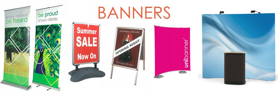 Banners, Signage and Rollup Banners