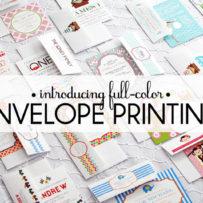 Digitally Printed Envelopes