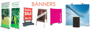 Large Format Printing - Banners, Signage and Rollup Banners