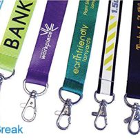 Printed and Plain Lanyards